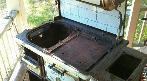 How to refinish a country stove the right way