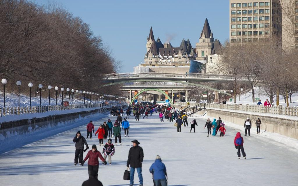 Great Outdoor Skating in Ottawa